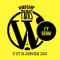 Logo WordCamp Paris 2014